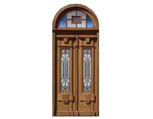 Amazing double entry door