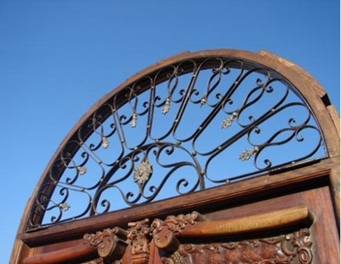 wrought iron inserts
