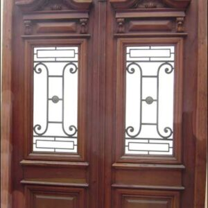 double entry door