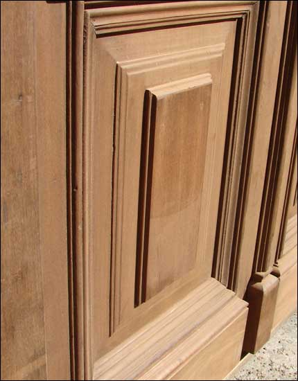 solid mahogany door