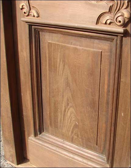solid double entry door