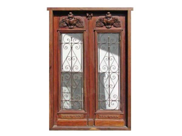 entrance double door