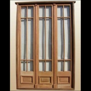 triple interior door